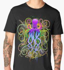 Octopus Psychedelic Luminescence Men's Premium T-Shirt