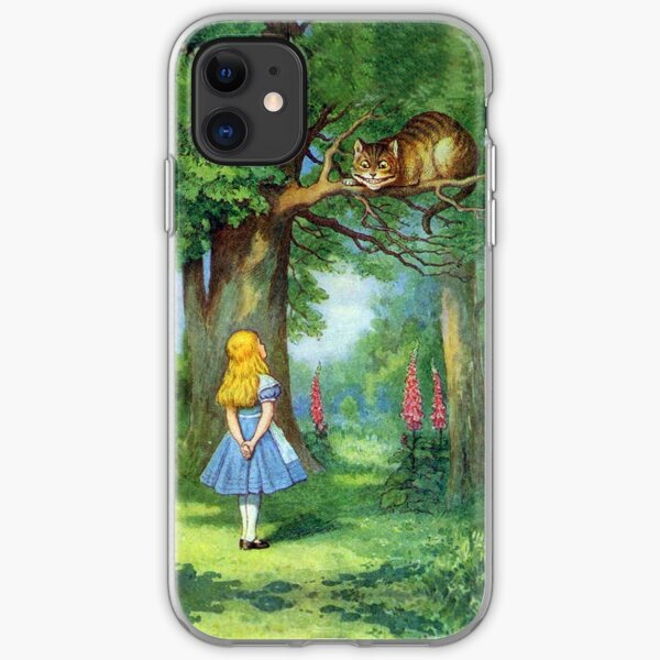 Chesire Cat iPhone Soft Case