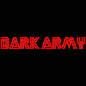 Dark Army by Essenti4lgoods