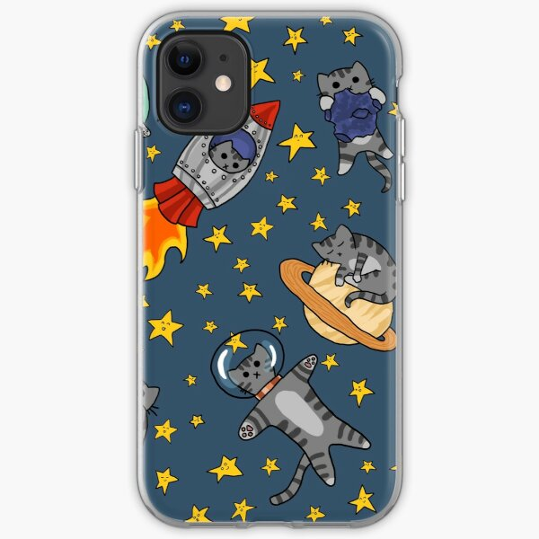 Space Cats iPhone Soft Case