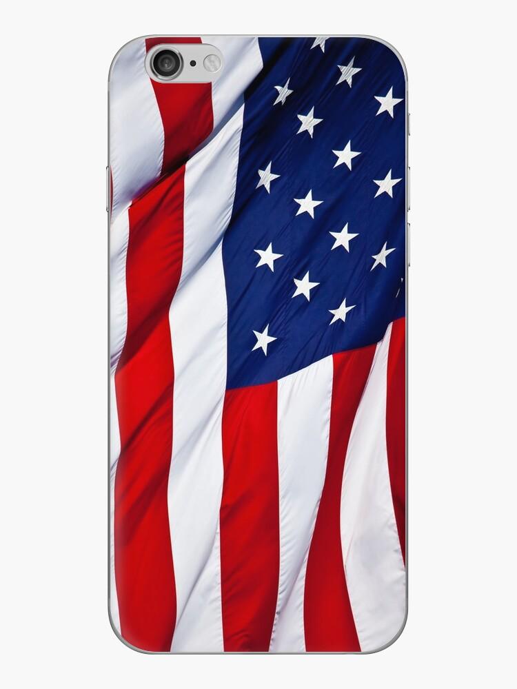 Amerikanische Flagge fliegen von thatstickerguy