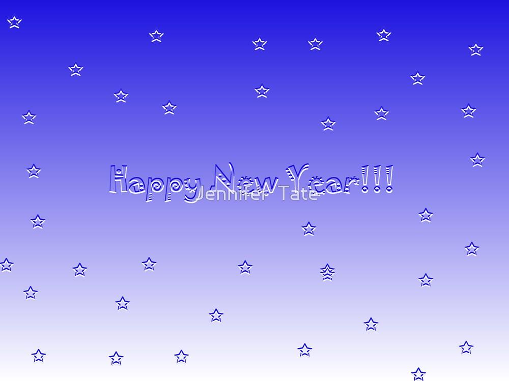 Happy New Year by Jennifer  Tate