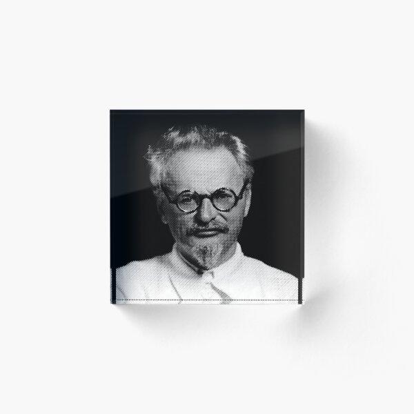 Leon Trotsky  Acrylic Block