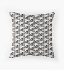 Gyotaku Poisson du Léman Floor Pillow