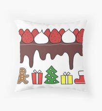 Happy Yummy Holidays! Other taste Throw Pillow
