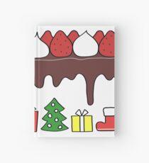Happy Yummy Holidays! Other taste Hardcover Journal