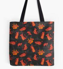 Devil Kittens Tote Bag