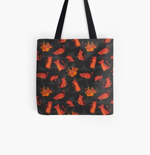 Devil Kittens All Over Print Tote Bag