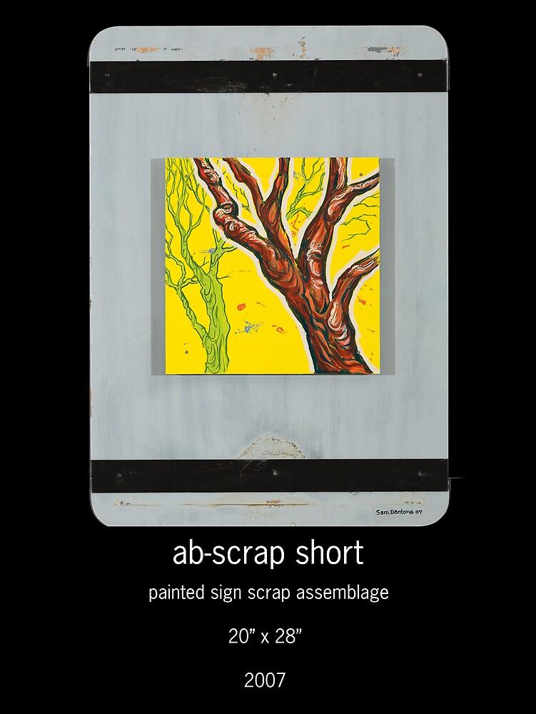 ab-scrap short by Sam Dantone