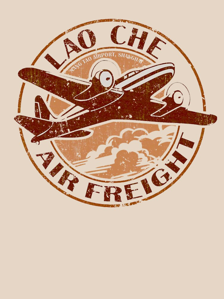 Indiana Jones - Lao Che Air Freight by UnconArt