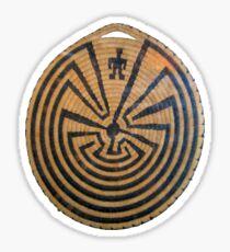 Basket Weave MAZE Sticker