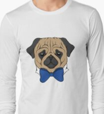 Pug With Bow Tie T-Shirt