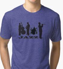 Jazz Band Tri-blend T-Shirt