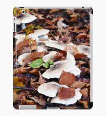 forest floor with mushrooms iPad-Hülle & Skin