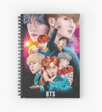BTS DNA Fan Art Spiralblock