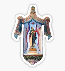 San Xavier's Mother Mary Sticker