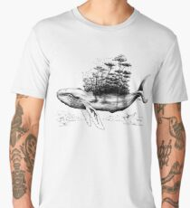 The Jungle Sky Whale Men's Premium T-Shirt