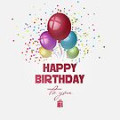 Happy Birthday by Olga Altunina
