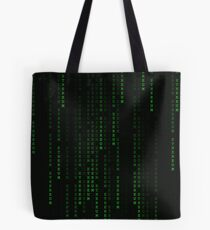 """Ethereum"" Cryptocurrency Matrix Print Tote Bag"