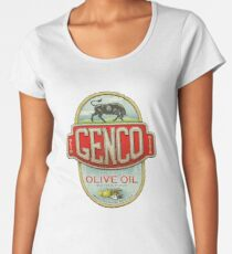 Camiseta premium para mujer El padrino - Genco Olive Oil Co.