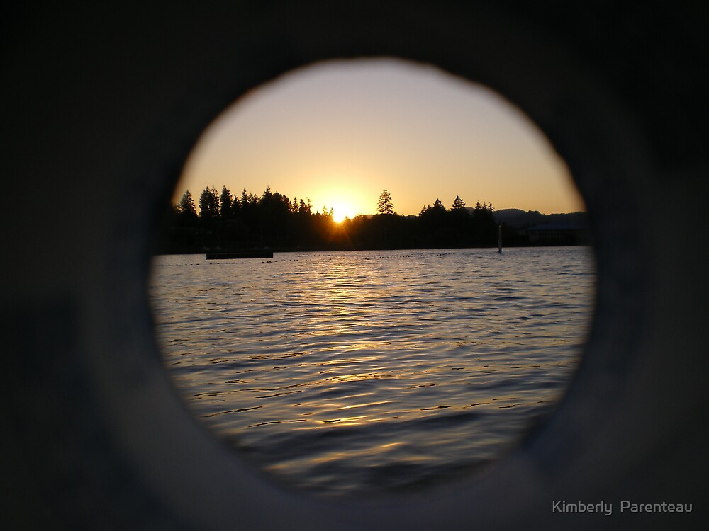 Looking through by Kimberly  Parenteau