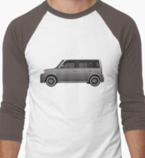 Vectored Boxcar Silver T-Shirt
