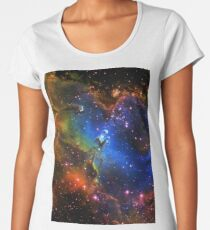 Galaxy Eagle Women's Premium T-Shirt
