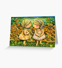 One Spring Day Greeting Card