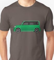 Vectored Boxcar Green T-Shirt