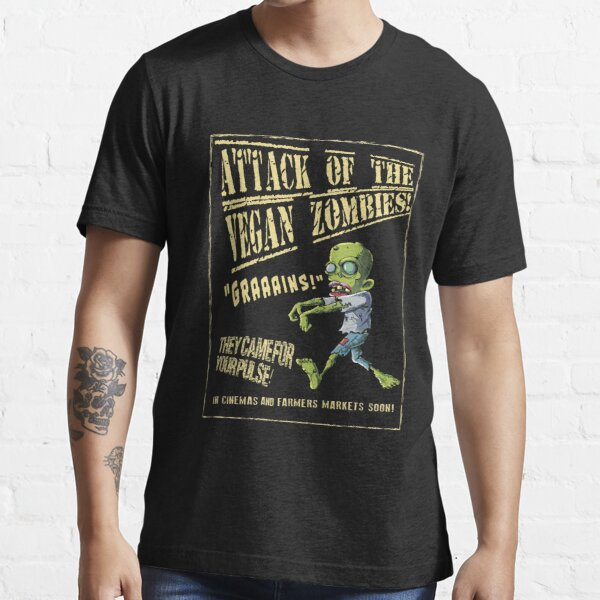 Attack of the Vegan Zombies Essential T-Shirt
