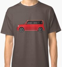 Vectored Boxcar Red Classic T-Shirt