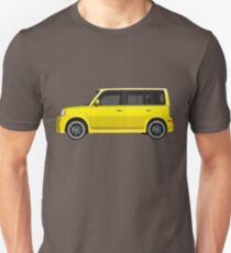 Vectored Boxcar Yellow T-Shirt
