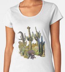 Giant Saguaros of the Sonoran Desert Women's Premium T-Shirt