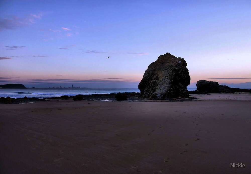 Currumbin Rock Sunrise by Nickie