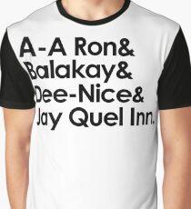A A Ron Graphic T-Shirt