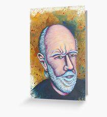 George Carlin Greeting Card