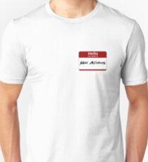 Hello My Name Is Ken Adams Unisex T-Shirt