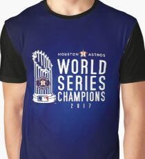 Houston Astros Champions 2017 Graphic T-Shirt