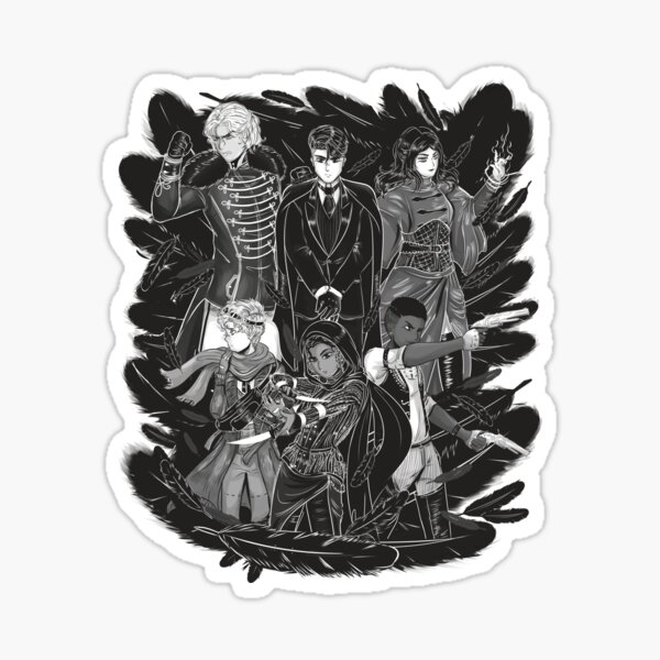 Inktober: Six of Crows Sticker