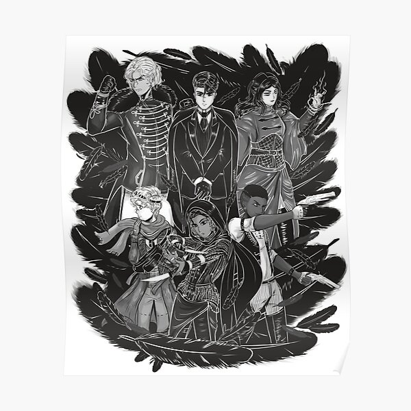 Inktober: Six of Crows Poster