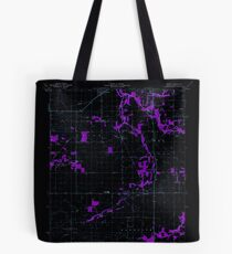 USGS TOPO Map Indiana IN Romney 160234 1961 24000 Inverted Tote Bag