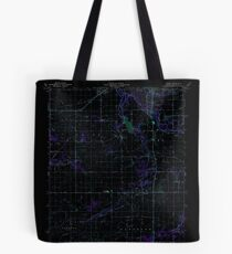 USGS TOPO Map Indiana IN Romney 160236 1961 24000 Inverted Tote Bag