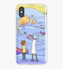 morty and rick iPhone Case/Skin