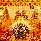 Buddha and Butterflies by Tammy Wetzel