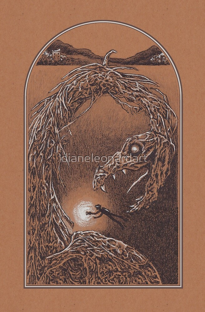 Loch Ness Monster by Diane LeonardArt