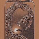 Loch-Ness-Monster von Diane LeonardArt