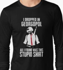 PUBG - Dropped in Georgopol - PlayerUnknown's Battlegrounds - Short-Sleeve Unisex T-Shirt T-Shirt