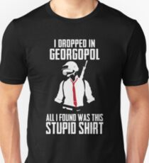PUBG - Dropped in Georgopol - PlayerUnknown's Battlegrounds - Short-Sleeve Unisex T-Shirt Unisex T-Shirt