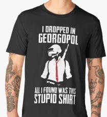 PUBG - Dropped in Georgopol - PlayerUnknown's Battlegrounds - Short-Sleeve Unisex T-Shirt Men's Premium T-Shirt