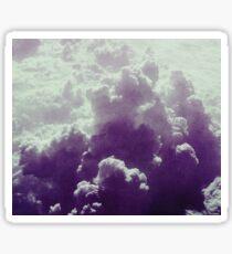 Purple Sky .- Sticker